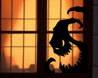 Disney's Nightmare Before Christmas Inspired Oogie Boogie Shadow Window/Wall Decal
