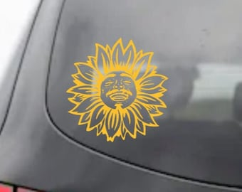 Post Malone Sunflower Adhesive Vinyl Decal