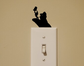 Disney Inspired Lion King Light Switch Wall Decal
