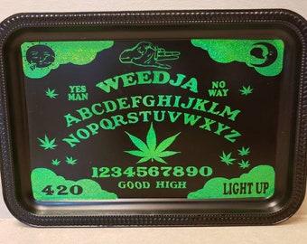 Weedja Board Metal Ouija Rolling Tray