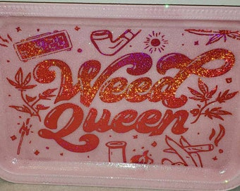 Weed Queen Rolling Tray