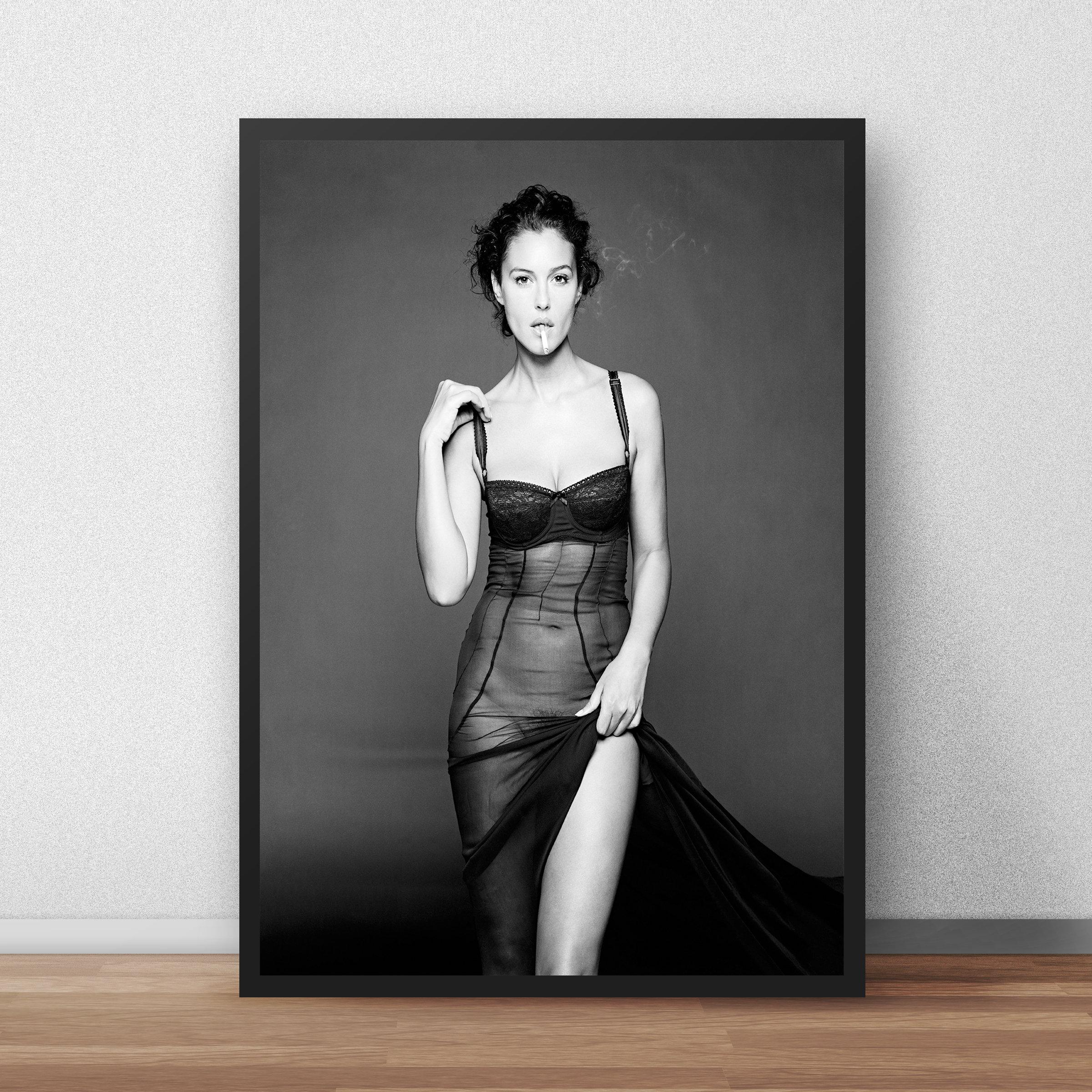 Erotic Nude Woman Art Print
