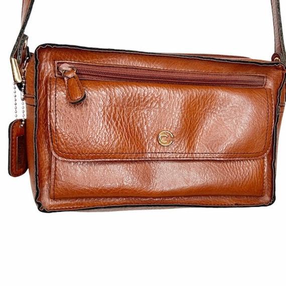 Vintage leather Cornell crossbody bag
