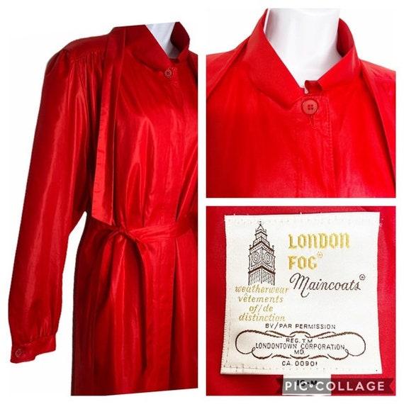 Vintage London Fog Maincoats trench coat