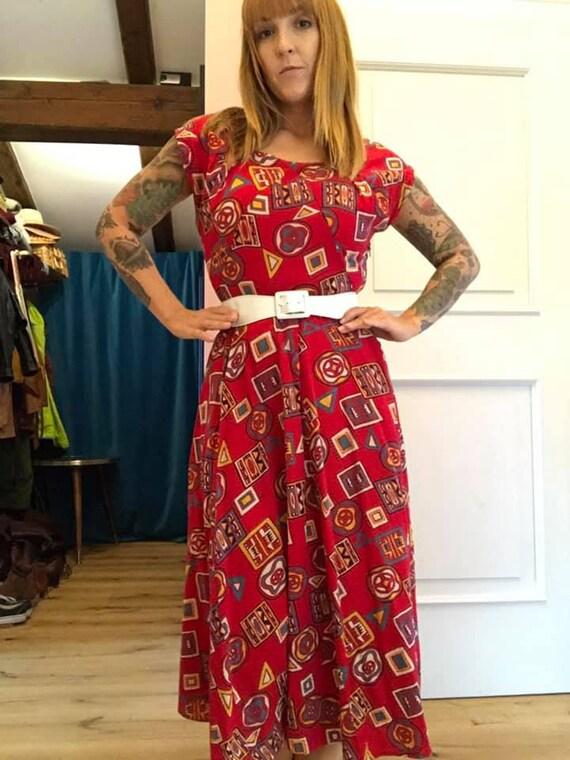 Dress 50s Tiki Hawaii 50s dress