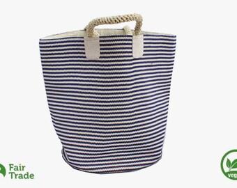 Storage basket made of jute - natural fiber - vegan