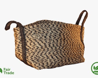 Living basket in jute - natural fiber - vegan