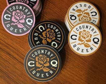 Round sticker - pick a color