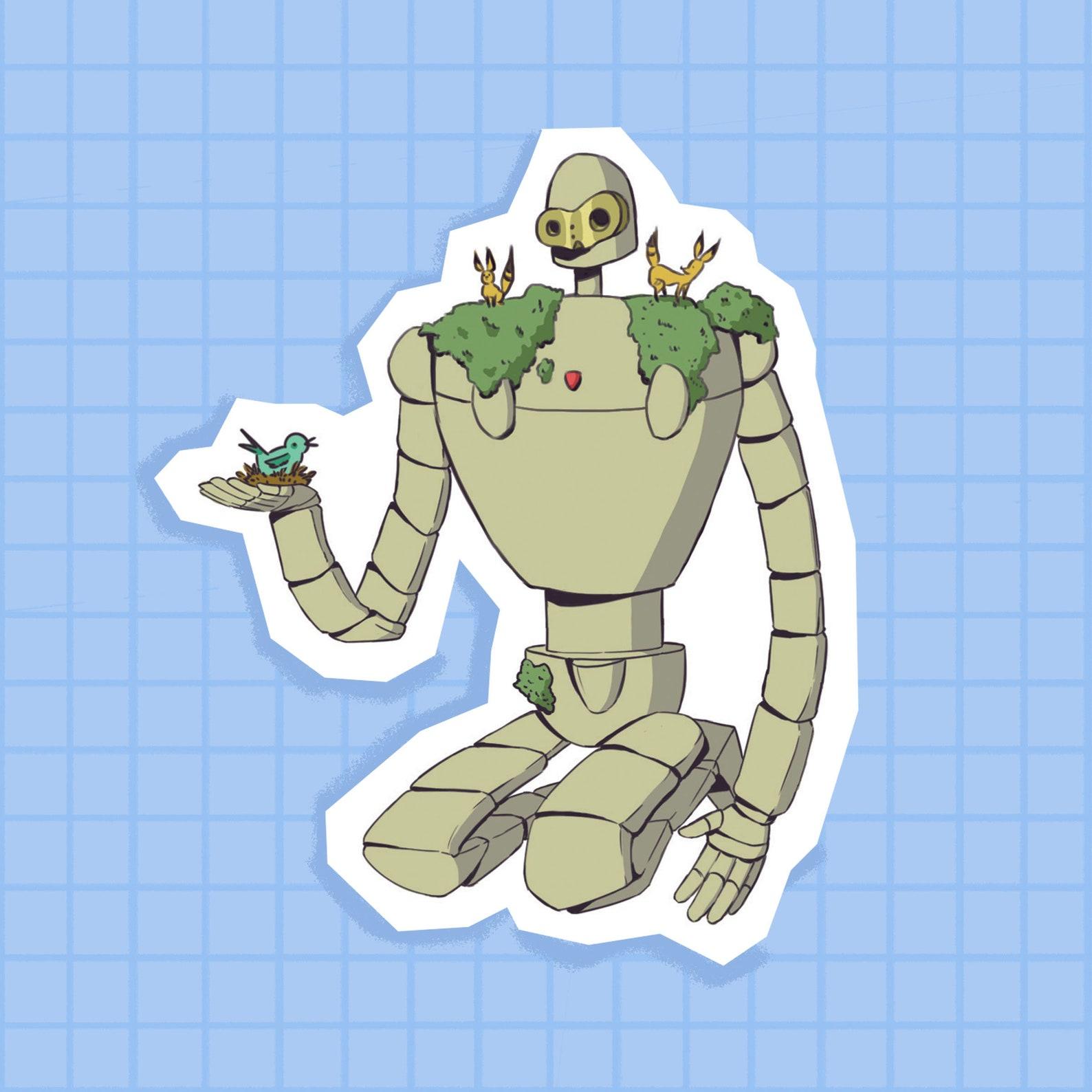 Laputa Sticker