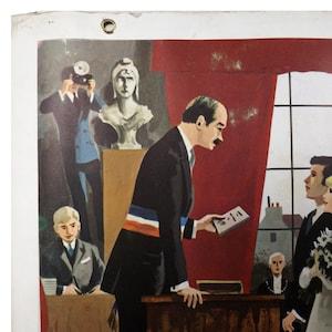 Schulplakat beidseitig Nathan 1967 französisch vintage   Etsy