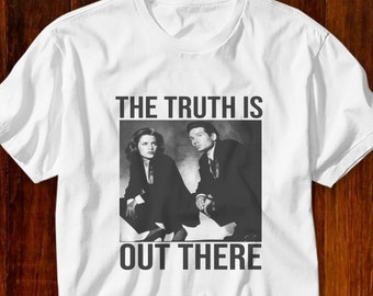 The X Files Science Fiction TV Show UFO The Truth Is Out There Adult T Shirt