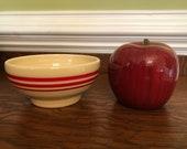 Fiestaware HLCCA Exclusive Retro Red Stripe Chili Bowl