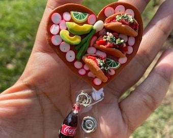 Heart Tacos Badge Reel