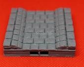 3D Terrain Dungeon 10 x10 Sewer Waterflow Straight Tile (2x2) Dragonlock 28mm