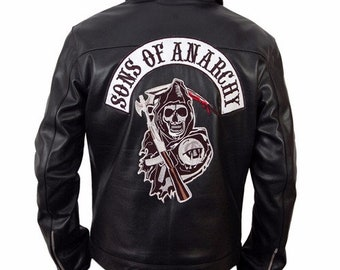 Sons Of Anarchy Jacket Etsy