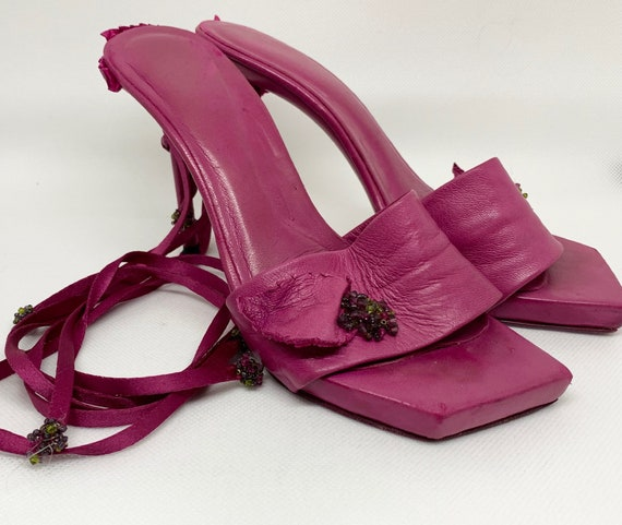 Fuxia craft sandal