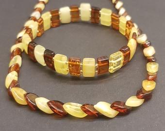 Baltic amber Amber Storm Jewellery natural amber bracelet round bead amber braceletbarrel shape amberunisex gift luxurious gift