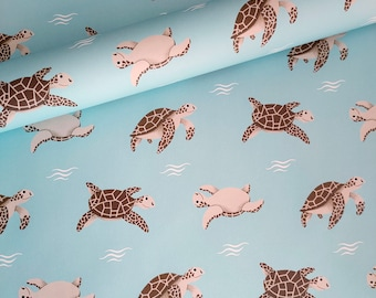 Under the sea theme wrapping paper designer gift wrap wrap your fishermans gifts in beautiful in fishy paper Whales /& Fish wrapping paper