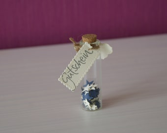 Small voucher packaging / glass gift wrapping for Mother's Day / Birthday / Wedding