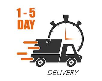 1-5 Day Vinyl UPS Ground Shipping: ADD ON