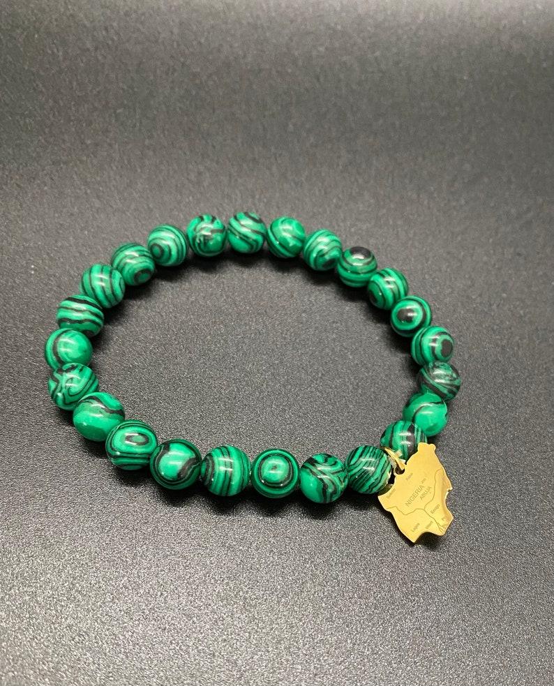 Gold Orunmila Nigeria Charm Bracelet