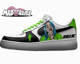 Custom Air Force 1 LowHigh Hand Painted For Men Women Custom Nike Floral Shoes Custom Sneakers Rose Style