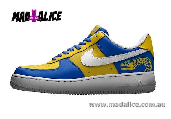 calibre Trueno adverbio  Zapatos Nike Air Force 1 pintados a mano a medida Parramatta | Etsy