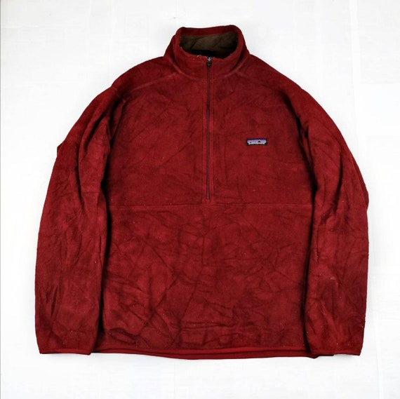 Patagonia Synchilla Half Zip Up Fleece Jacket