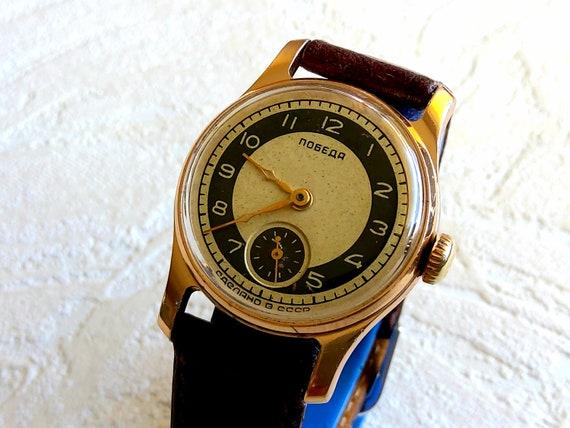 Soviet russian POBEDA  ZIM vintage dress watch fro