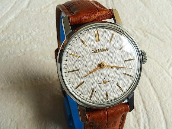 Soviet russian vintage Pobeda  ZIM dress watch, CA