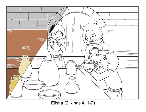 Bible Coloring Pages - Old Testament | HubPages | 440x570