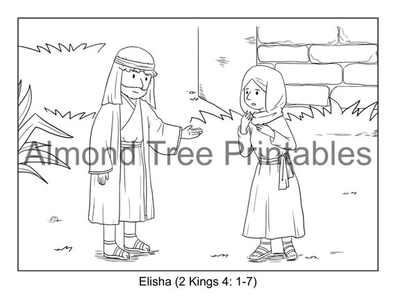 Naaman The Leper Coloring Page. captain naaman colouring pages ... | 441x570