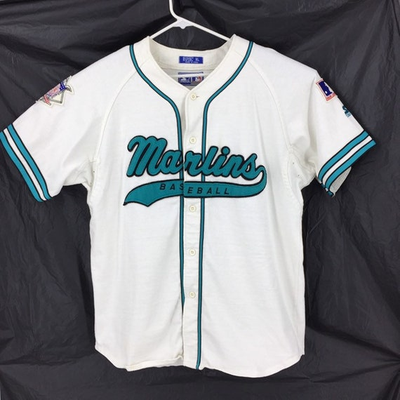 Florida Marlins Starter Jersey MLB Baseball Button