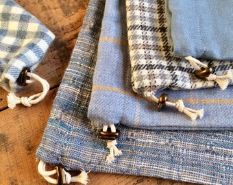 Kompagnon pochon (storage bags, gift pouch, fabric wrapper)