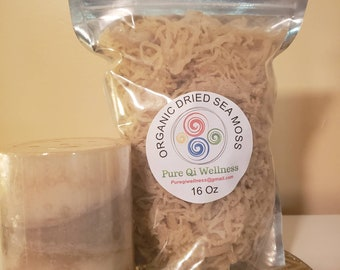 1 lb 100% Golden Raw Organic DRIED IRISH Sea Moss - Free Shipping!!!!