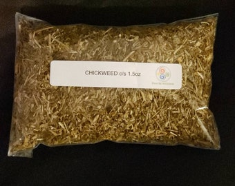 Chickweed C/S 1.5oz ***Start your own Herb Collection*** Free Shipping