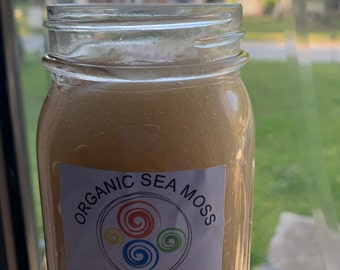 8oz* 100% Organic Wild-Crafted Irish Sea Moss Gel Sealed and Made to order by a Naturopathic Doctor!!  **Free Shipping**