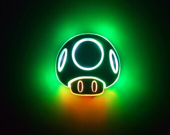 Blue Neon Lights Singal Roblox Nintendo Light Etsy