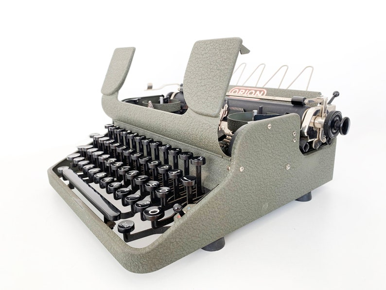 QWERTY perfectly working VERY Rare Orion Typewriter Christmas Gift