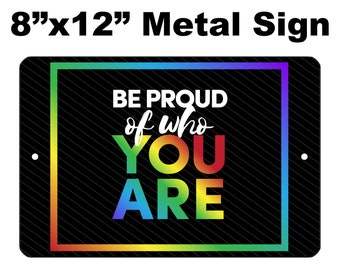 Gay #27 Lesbian Bisexual Transgender Pride Love Wins Equality Rainbow Welcome 8x12 METAL WREATH MAKING Sign