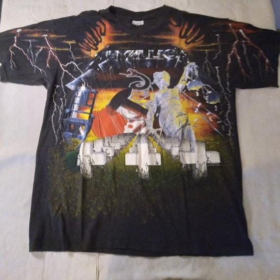 Vintage 90s Metallica AOP T-Shirt