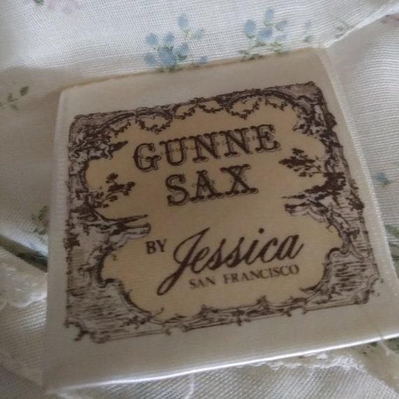 Vintage 70s Gunne Sax Prairie Cottagecore Boho Hi… - image 8