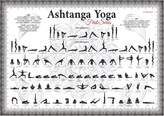 Ashtanga Yoga Primary Series Platinium Etsy