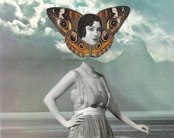 Times are Changing - Collage Art Print - Multiple Sizes