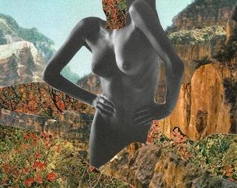 Ecstasy - Collage Art Print - Multiple Sizes