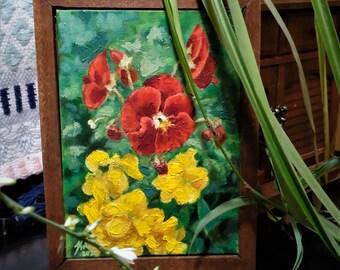 Painted Pansies
