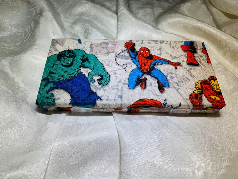 Marvel Pattern Pill Pack 7 day Pill and Vitamin Container