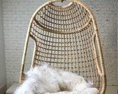Melbourne Rattan Swing Chair