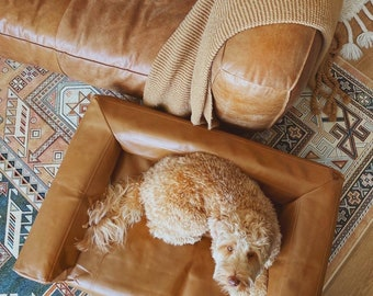 Custom Dog Couch, Dog Sofa, Pet Sofa, Dog Bed, Switchable covers & Free Shipping