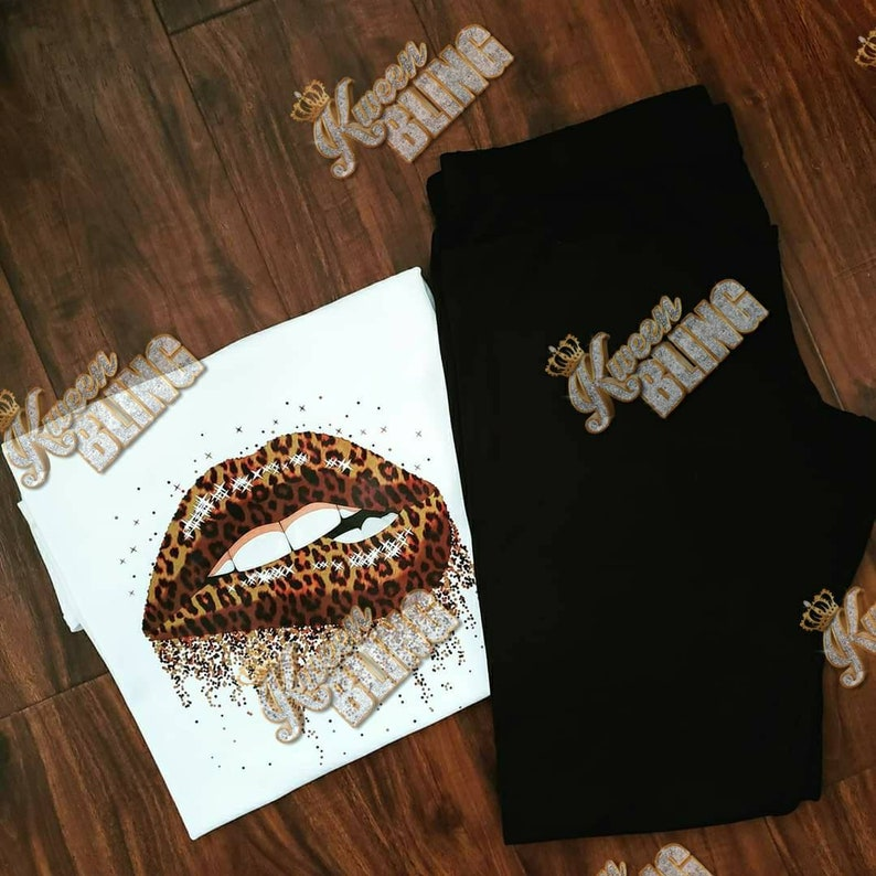Leopard Lips Shirt
